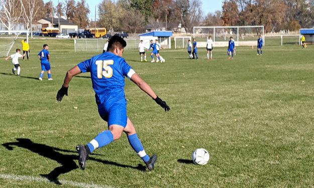 Prescott High School Soccer wins district playoff against Trout Lake, 4-0 - Waitsburgtimes